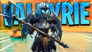 New Fortnite VALKYRIE Skin Gameplay 21K Duo Win