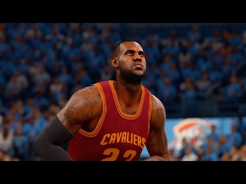 NBA Live 16: NBA Finals Gameplay Cavaliers @ Thunder (Full Game)