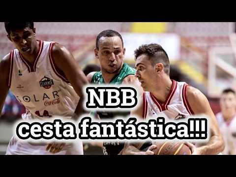 NBB: Cesta no ultimo segundo - Basquete Cearense contra Bauru