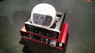 z review audio interfaces focusrite scarlett 2i2 shure mvi steinberg ur12