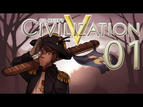 Let's Play Civilization 5 - Napoleon - Part 1: This'll Be Good