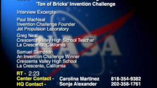 Kids Build Cardboard Bridges In Invention Challenge - Video File (avc-2009-211)