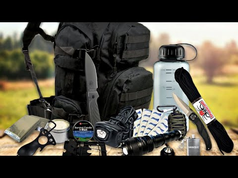 TOP 10 Bug Out Bag Essentials 2019 (Bug Out Gear 2019)