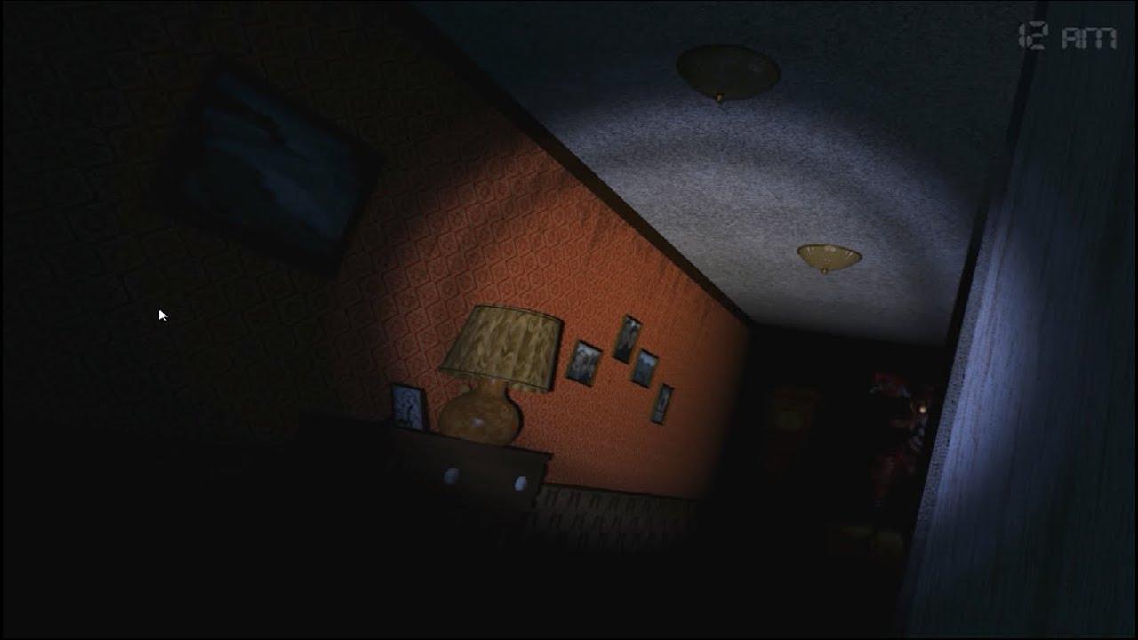 Five Nights At Freddys 4 Pt 5  Foxy en los pasillos