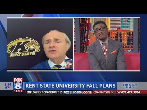 Kent State University President Paints A Picture Of What College Life Will Look This Fall