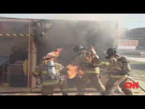 Firefighters catch Fire FAIL