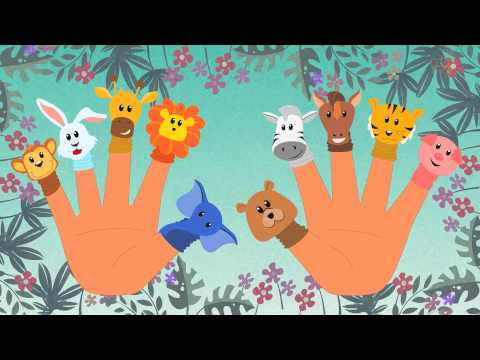 Ten Little Fingers  Kindergarten Nursery Rhymes For Children  Cartoons For Babies  Kids Tv