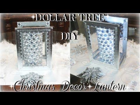 DIY CHRISTMAS DECOR ON A BUDGET   DIY DOLLAR TREE LANTERN DECOR   DIY DOLLAR TREE ROOM DECOR