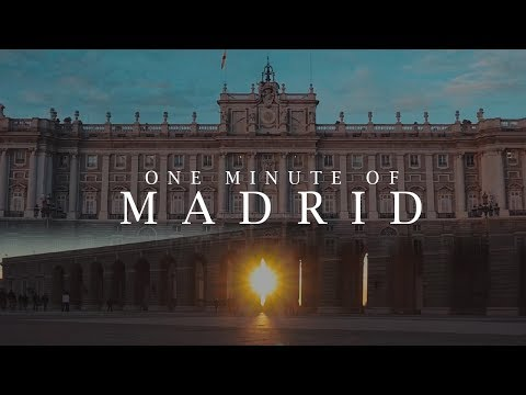 One Minute of MADRID | Sony a6000 Travel Film