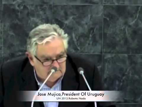 Jose Pepe Mujica,President of Uruguay in UN Speech with English Translation ,Set 2013