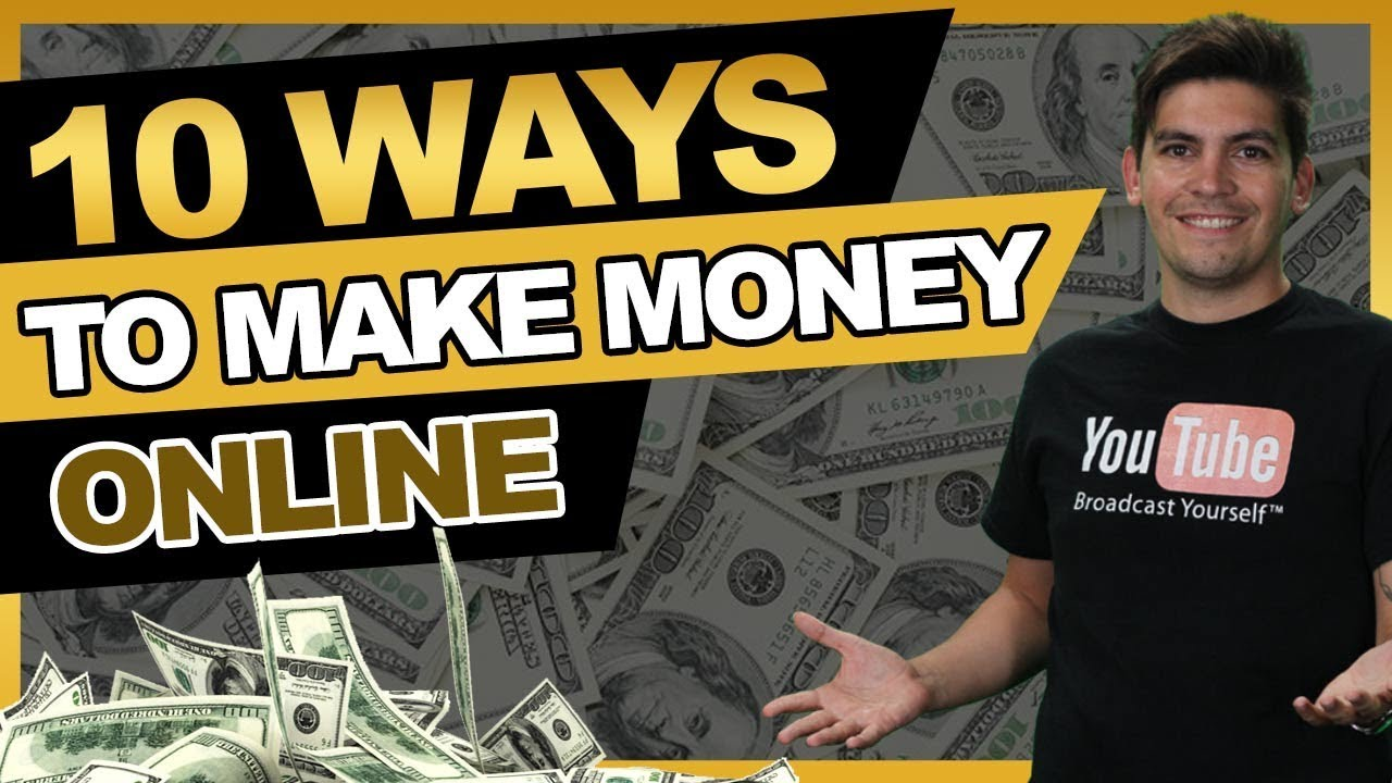 Top 10 REAL WAYS To Make Money Online - PROOF!  How To Make Money Online