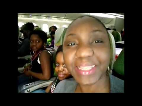 Déroulement de notre voyage - Francfort - Douala