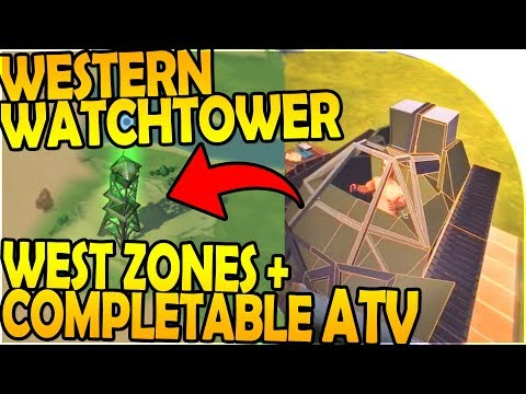NEW WESTERN WATCHTOWER, ZONES + COMPLETE ATV in UPDATE 1.9 - Last Day On Earth Survival Update 1.8.1