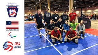 USA Sitting Volleyball Demo in Harrisburg, PA