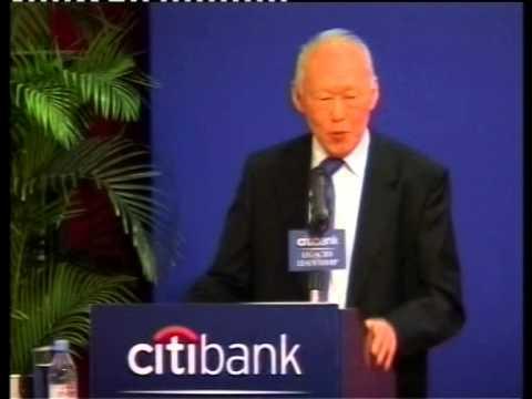 Speech by Prime Minister Lee Kuan Yew in Hong Kong - Legacies Leadership