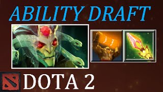 Dota 2 Enchant Totem + Impetus Almost 1 Shot Kill Ability Draft