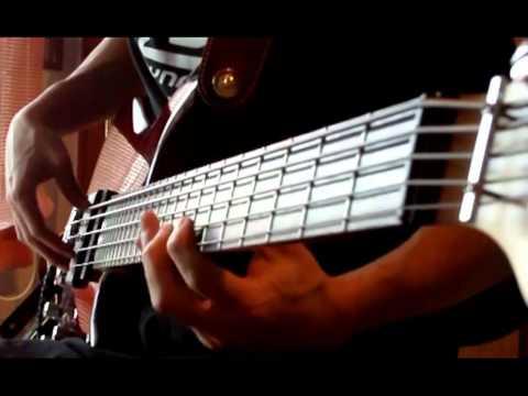 Mellowship Slinky in B Major (Bass Cover) | NickFiveStrings