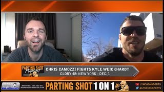 UFC veteran Chris Camozzi talks Glory Kickboxing debut Dec. 1