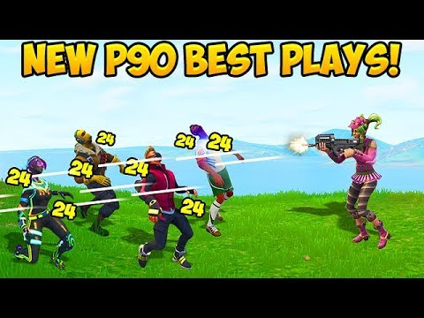 *NEW* RARE P90 SMG BEST PLAYS! - Fortnite Funny Fails and WTF Moments! #267 (Daily Moments)