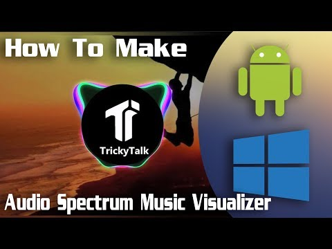 How to Make Audio Spectrum Music Visualizer on Android