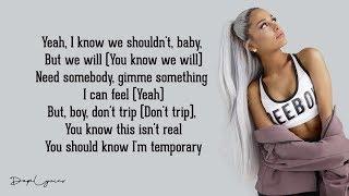Ariana Grande - bad idea (Lyrics) 🎵