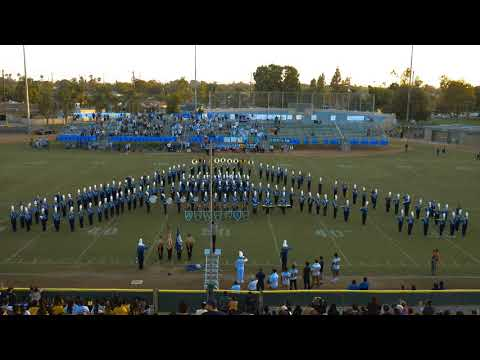 (4K) Anaheim HS Colonist Band & Pageantry | Pre-Game Performance | Bell Game 2018