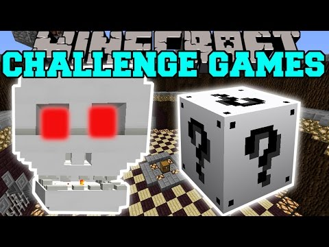 Minecraft: SKULL OF DOOM CHALLENGE GAMES - Lucky Block Mod - Modded Mini-Game