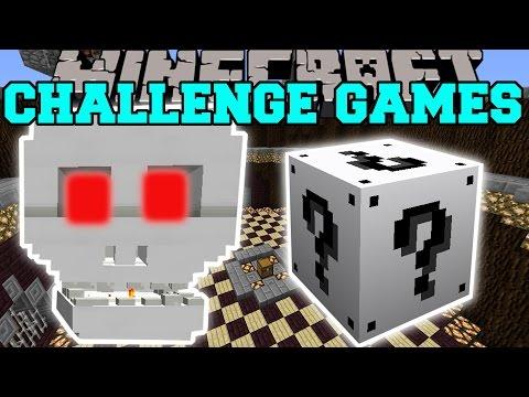 Minecraft: SKULL OF DOOM CHALLENGE GAMES - Lucky Block Mod - Modded Mini-Game