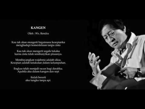 Puisi Kangen - WS Rendra
