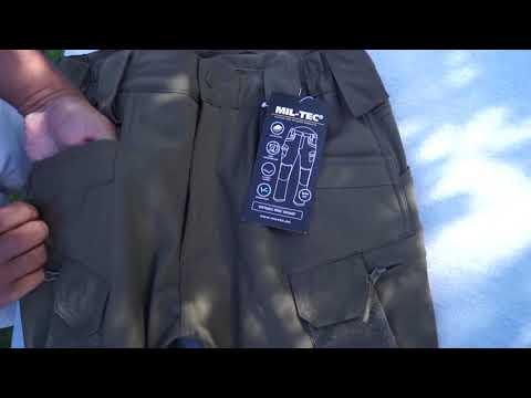 Miltec Assault Softshell Bukser Militære bukser