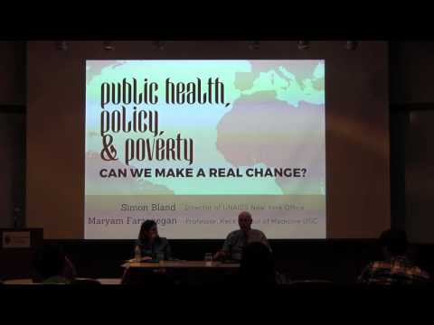 Public Health, Policy, and Poverty: Can We Make a Real Change