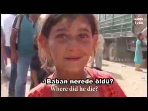 İsimini Dahi Bilmeyen Suriyeli Yetim çocuk