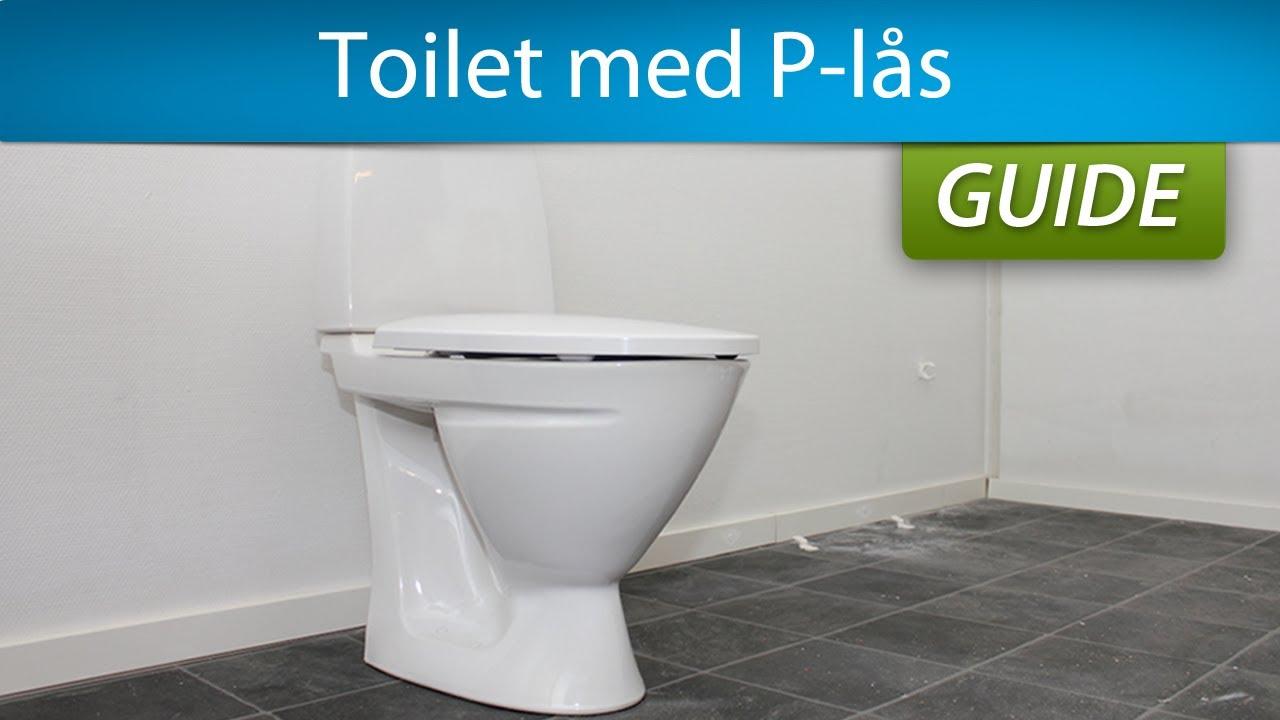 Højmoderne Montering af toilet - gulvstående med P-lås - YouTube IZ-26