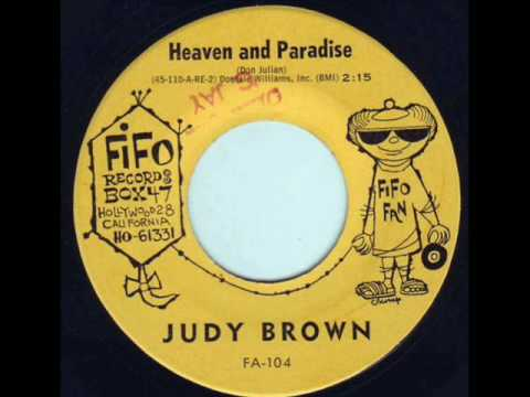 Judy Brown - Heaven and Paradise 1961 45rpm