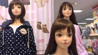 dream5コラボマネキン Japanese mannequin.