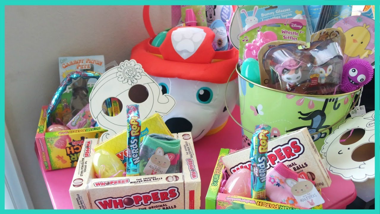 Toddler easter basket ideas 2016 youtube toddler easter basket ideas 2016 negle Gallery