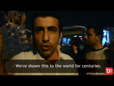 An interview with a Kurdish citizen after the failed coup attempt