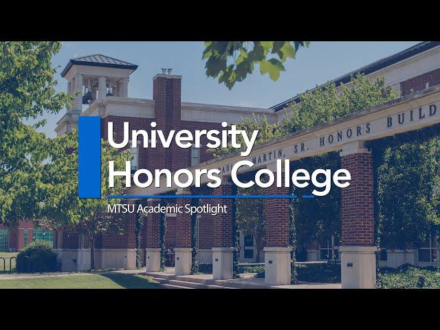 MTSU Academic Spotlight | University Honors College