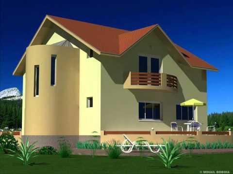 Casa ib 34 model de casa cu mansarda bucuresti youtube for Youtube case cu mansarda