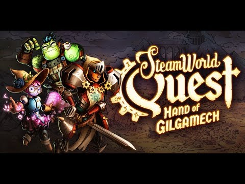 SteamWorld Quest: Hand of Gilgamech (Switch) Gameplay |