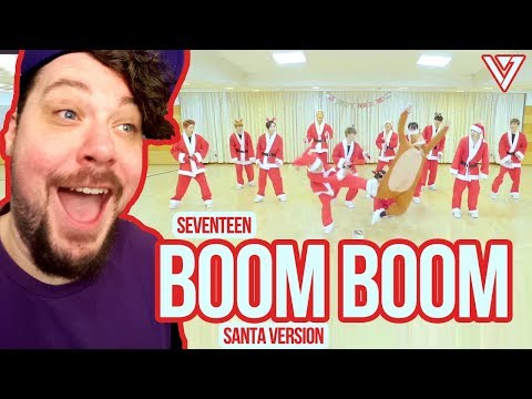 Mikey Reacts to SEVENTEEN 'Boom Boom' Santa Version