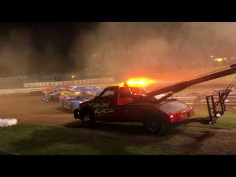 Huge Crash Williams Grove Speedway