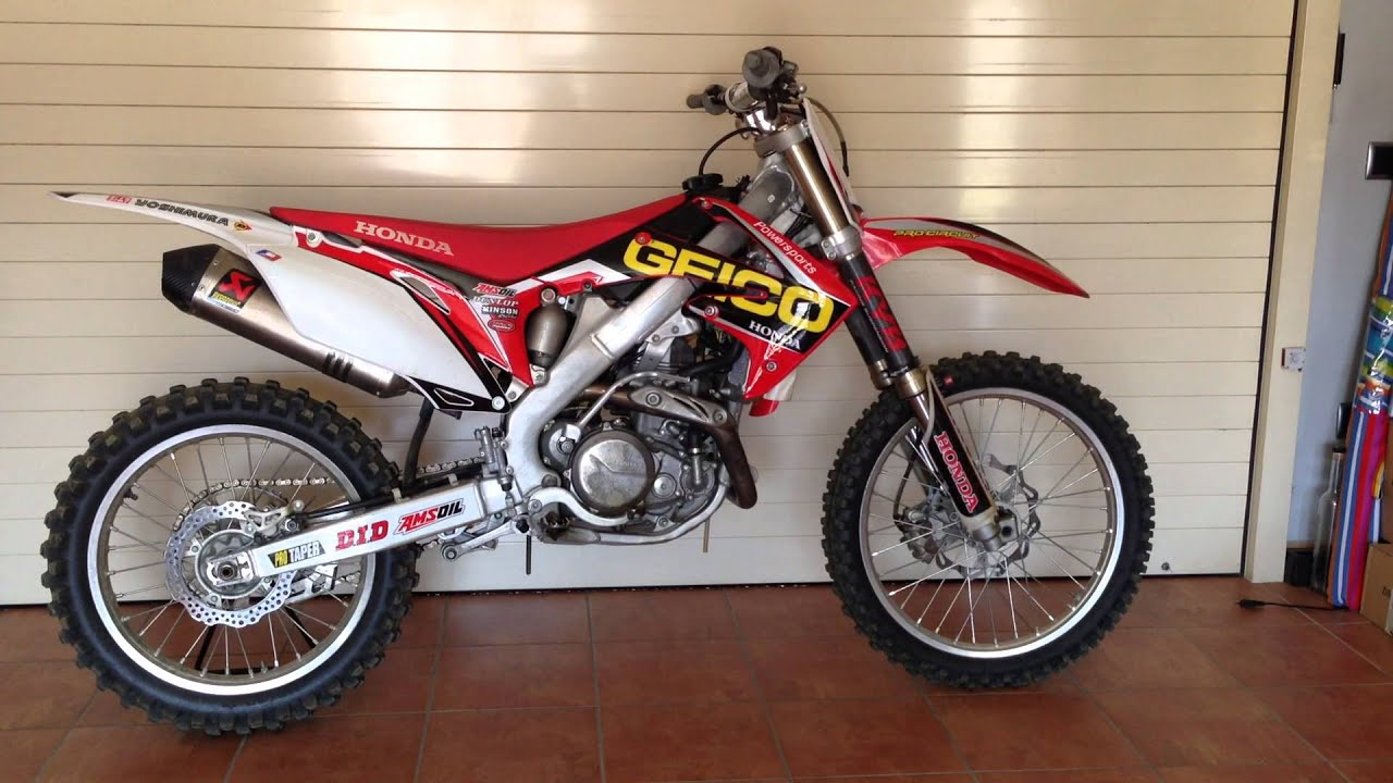 Honda CRF 450R 2009 - YouTube