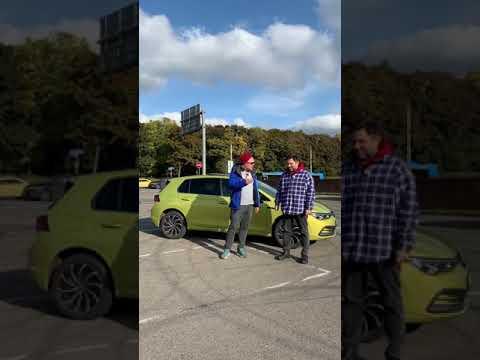 Русский пакет   VW Golf 8   #shorts