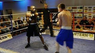 IBA Boxing - Darren v Daniel - Harlow Stadium