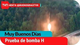 Prueba de bomba H en Norcorea  | Muy buenos días