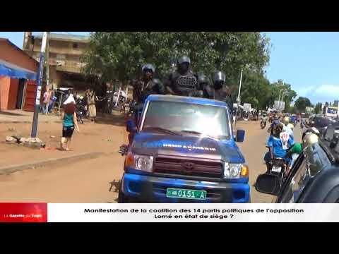 Le convoi des leaders de la coalition attaqué par une unité de la gendarmerie (USIG)