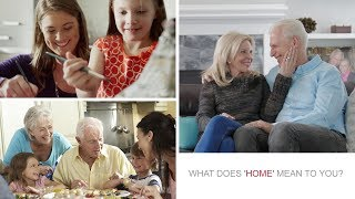 """What does """"Home"""" mean to you?"""