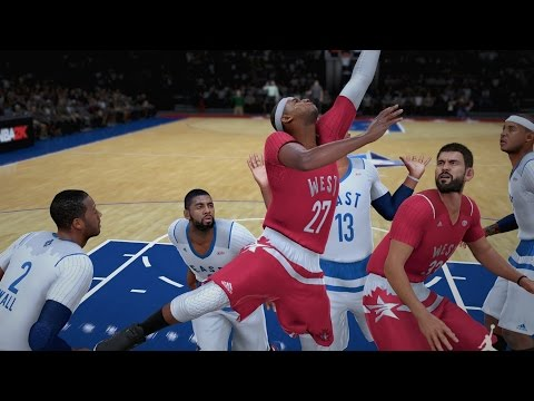 NBA 2K16 PS4 My Career - The All-Star Game!