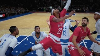 nba 2k16 ps4 my career the all star game